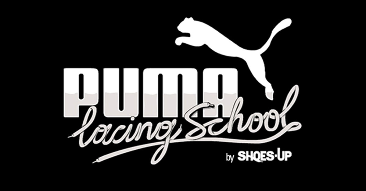 puma lacing school